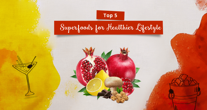Top 5 Superfoods for Healthier Lifestyle
