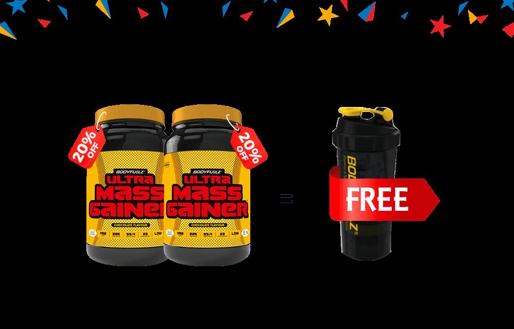 Bodyfuelz UMG Offer - 1 Shaker Free